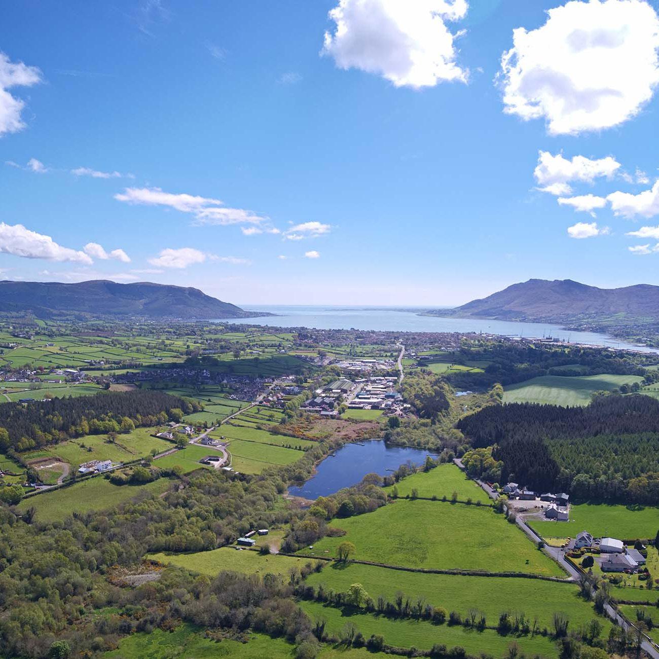Grinan landscape in Bangor, NI